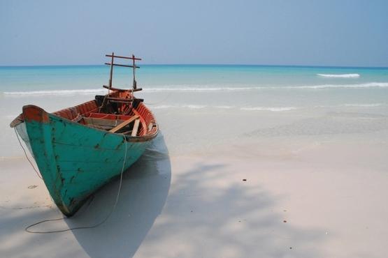 The very white beach - photo de Vilija Pleskaité