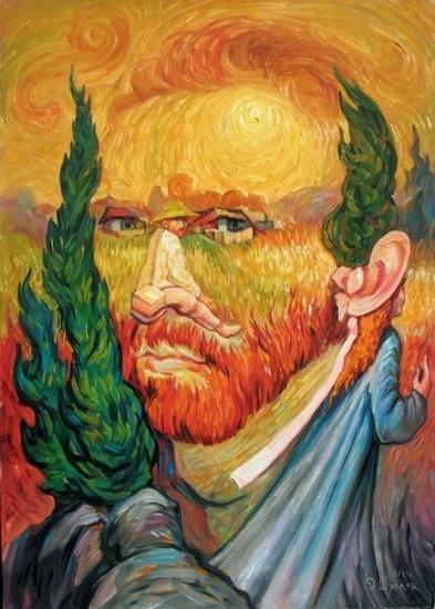 Van Gogh - toile dOleg Shuplyak