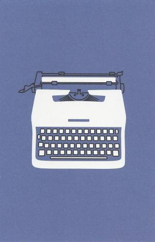 Lettera 32 portable typewriter - illustration de Marcello Nizzoli pour Olivetti (1963)