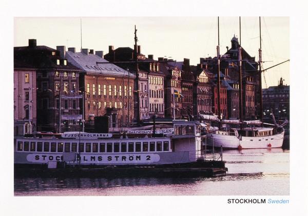 Port de Stockholm, Suède