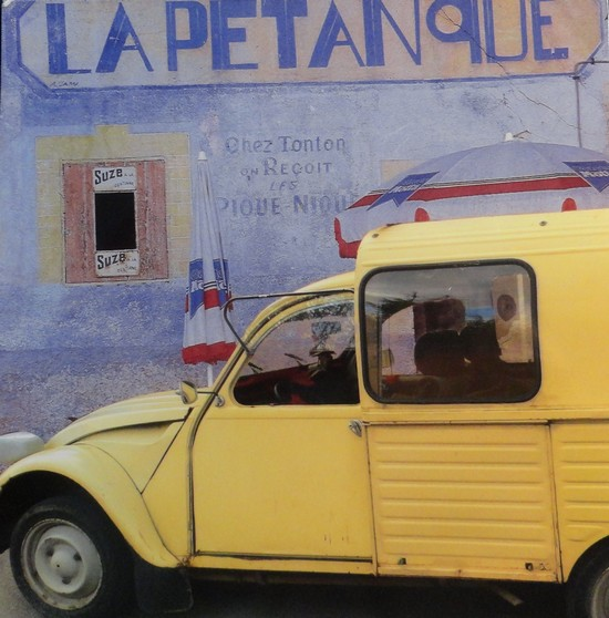 LA 2CV de La Pétanque - photo de Julien Lautier