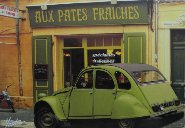 La 2CV verte - photo de Julien Lautier