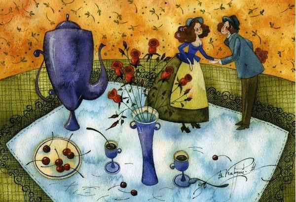 Le bonheur - illustration de Victoria Kirdy