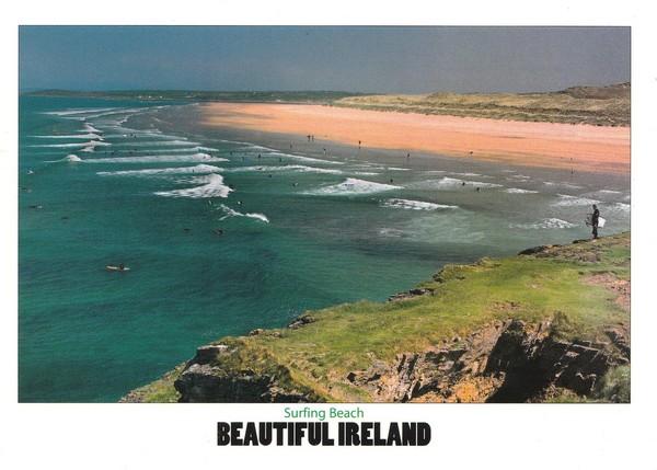 Plage d'irlande