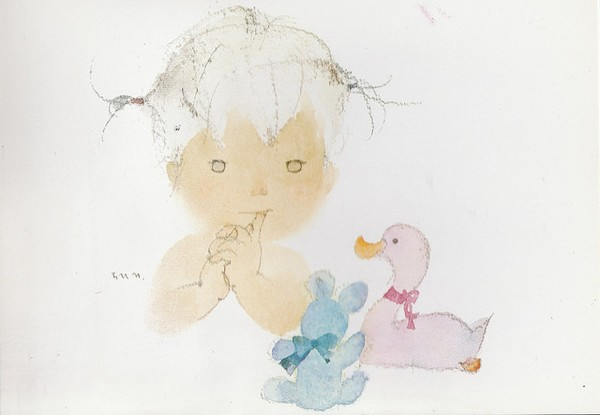 DUCK, BEAR AND BABY