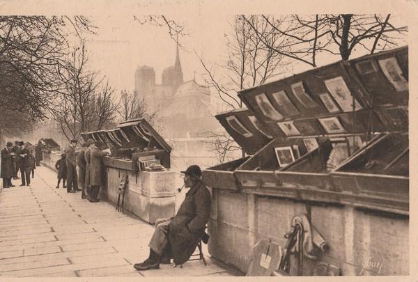 Bouquinistes du quai de la Tournelle 1931